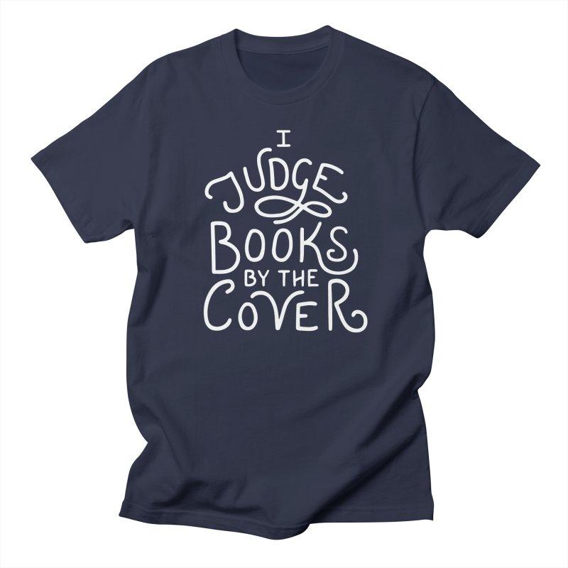 I Judge Books Women's Regular Unisex T-Shirt by BumbleBess