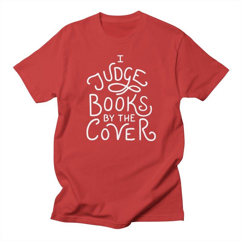 I Judge Books Men's Regular T-Shirt by BumbleBess