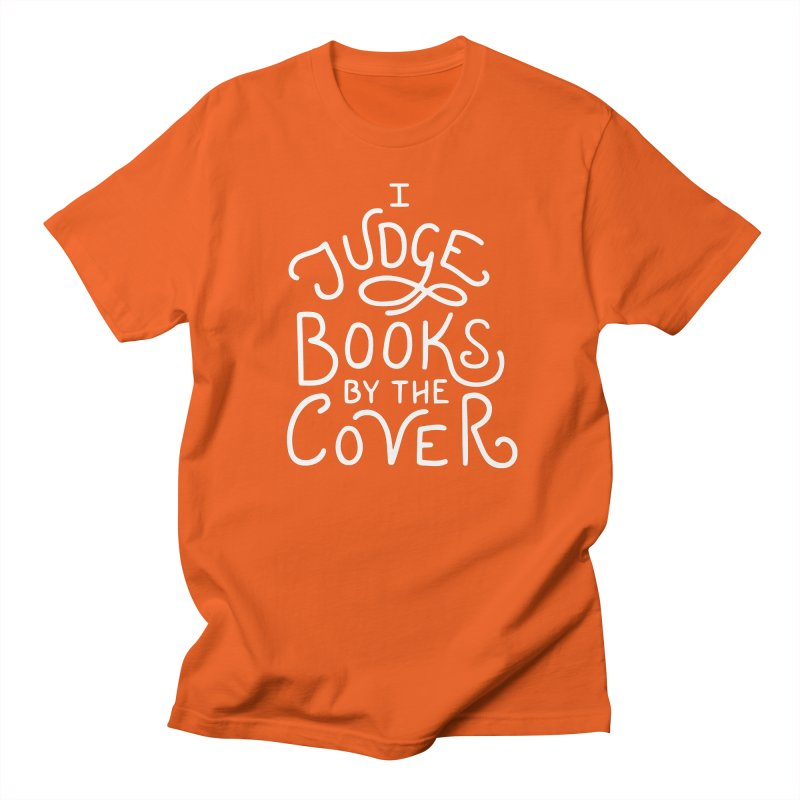 I Judge Books Women's Regular Unisex T-Shirt by BumbleBess