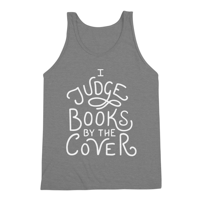 I Judge Books Men's Triblend Tank by BumbleBess