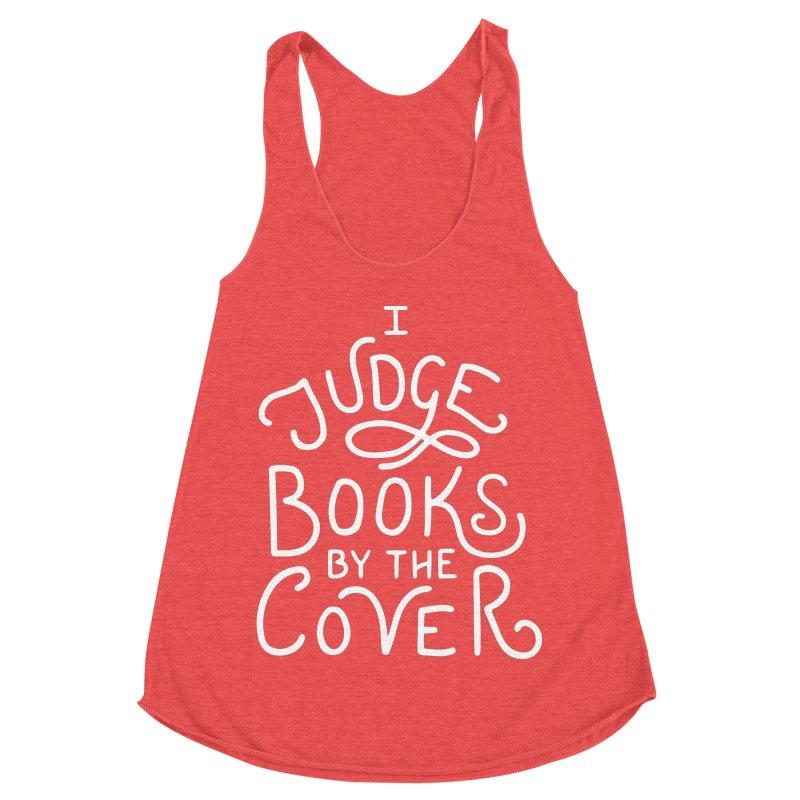 I Judge Books Women's Racerback Triblend Tank by BumbleBess