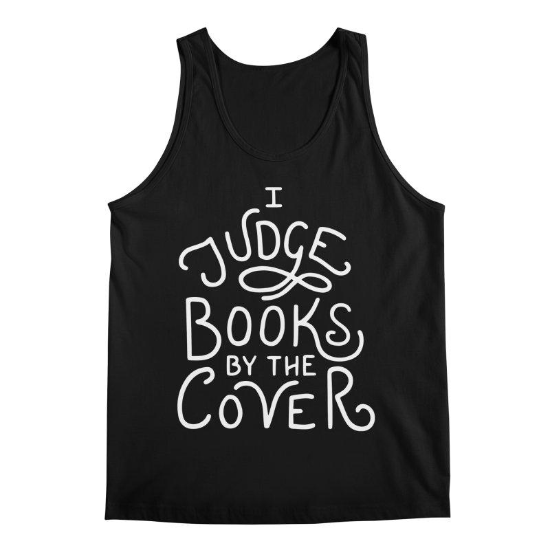 I Judge Books Men's Regular Tank by BumbleBess