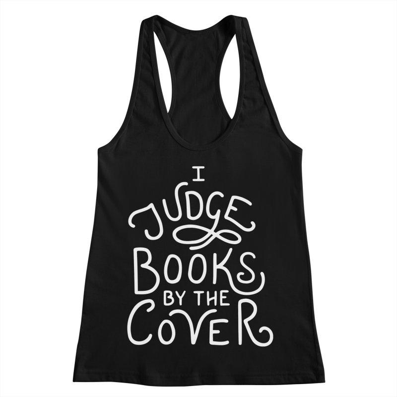 I Judge Books Women's Racerback Tank by BumbleBess