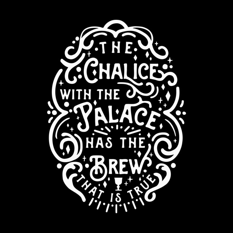 The Chalice with the Palace Men's Longsleeve T-Shirt by BumbleBess