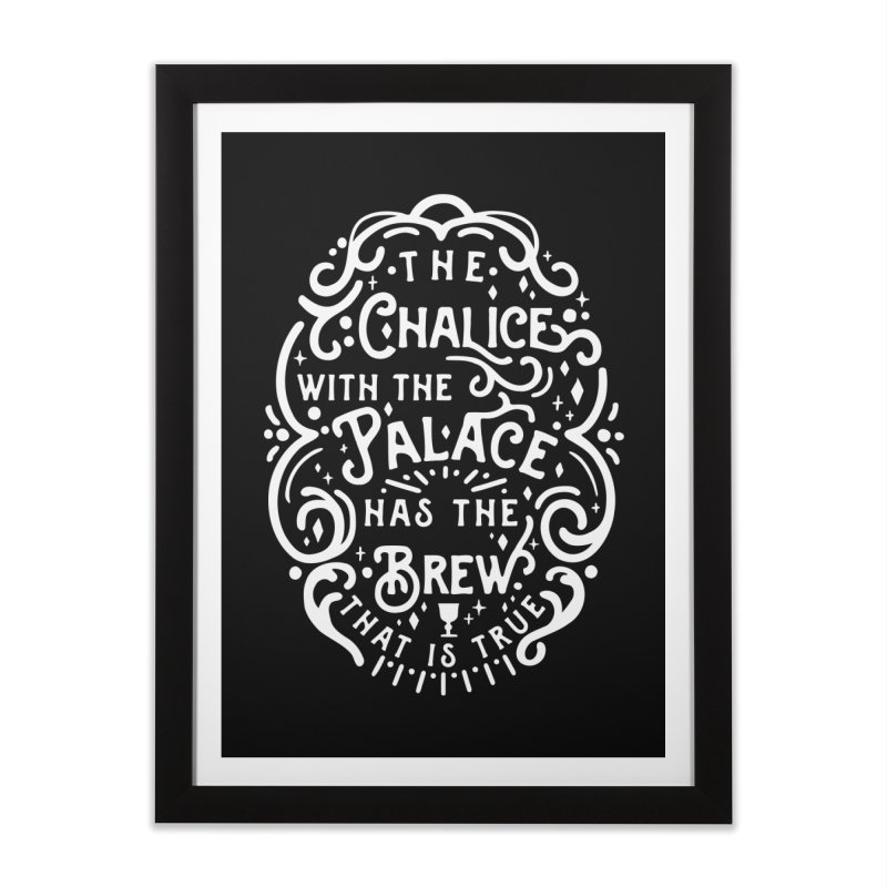 The Chalice with the Palace Home Framed Fine Art Print by BumbleBess