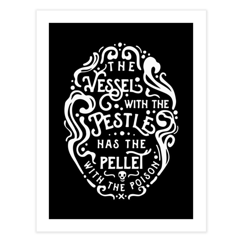The Vessel with the Pestle Home Fine Art Print by BumbleBess