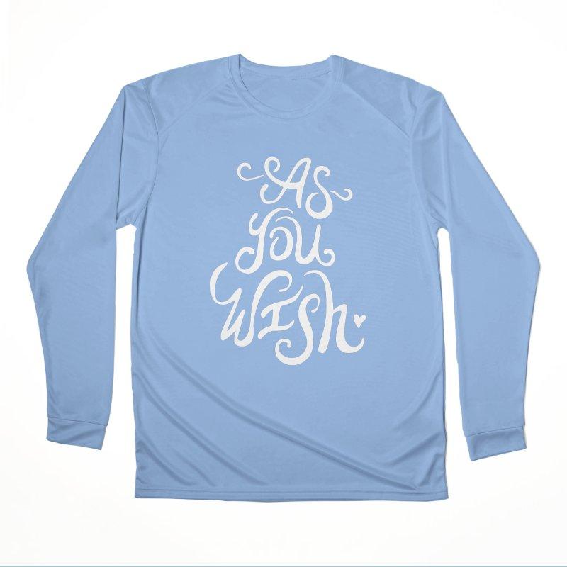 As You Wish Men's Longsleeve T-Shirt by BumbleBess