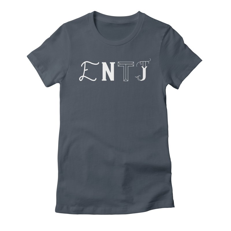 ENTJ Women's T-Shirt by BumbleBess