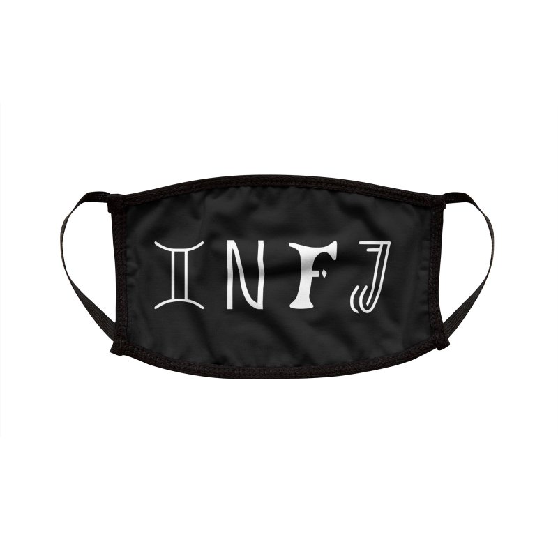 INFJ Accessories Face Mask by BumbleBess