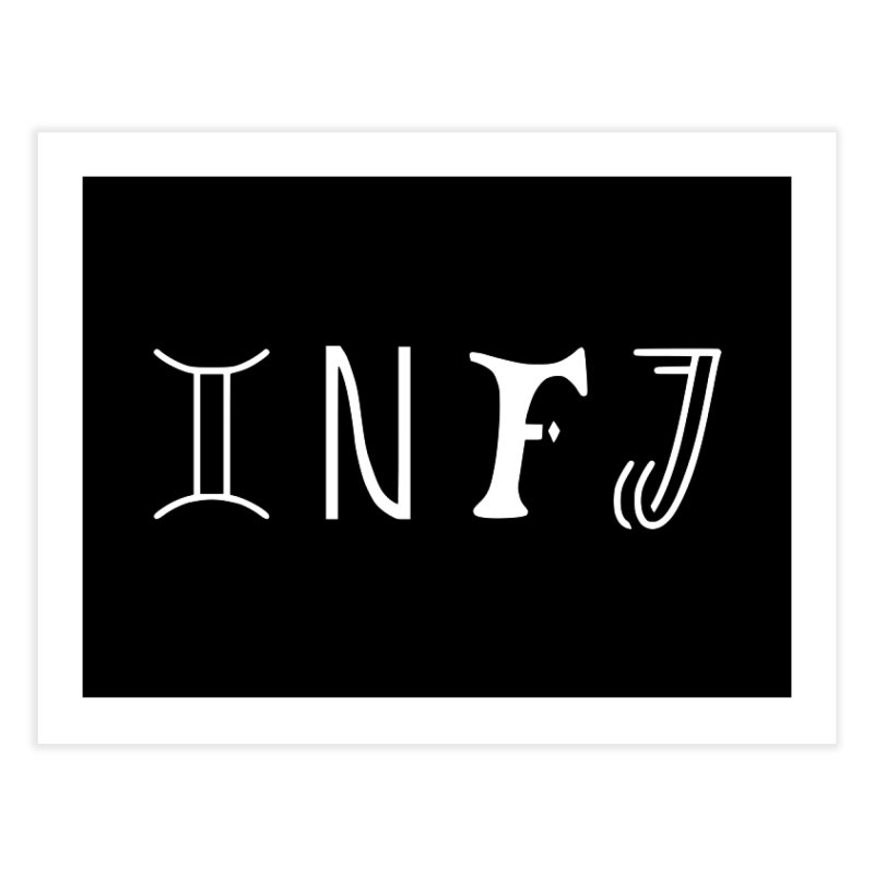 INFJ Home Fine Art Print by BumbleBess