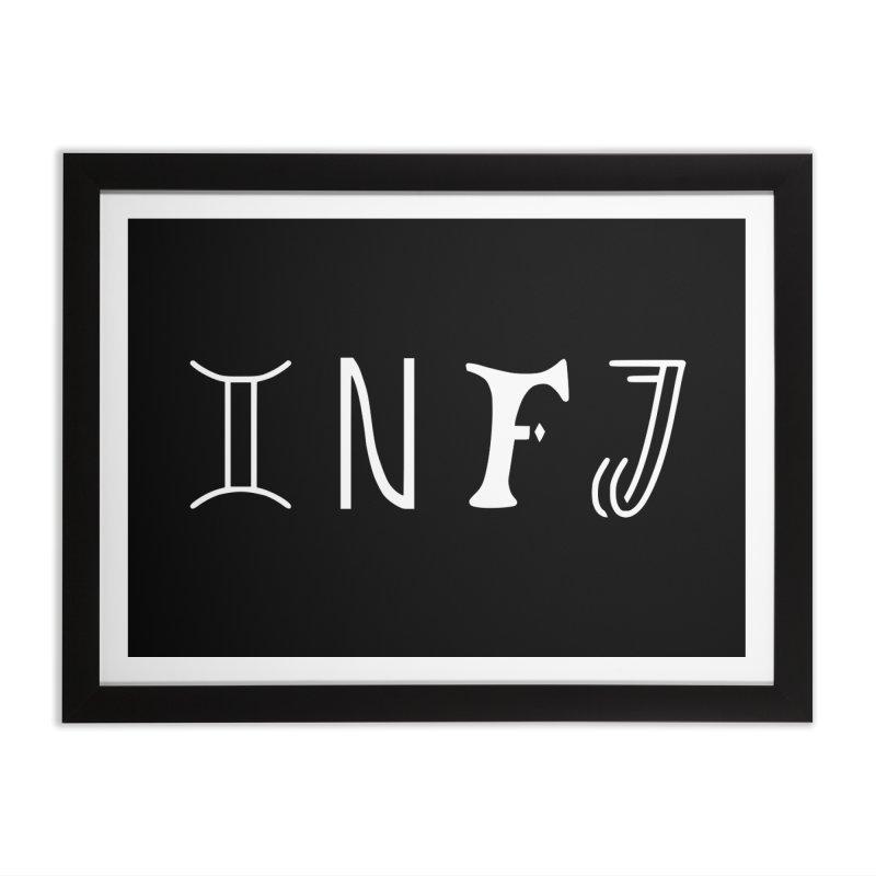 INFJ Home Framed Fine Art Print by BumbleBess