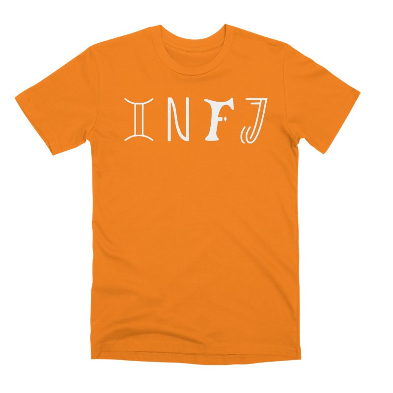 INFJ Men's T-Shirt by BumbleBess