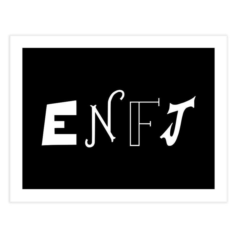 ENFJ Home Fine Art Print by BumbleBess