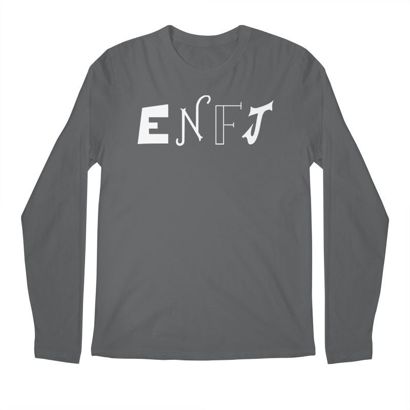 ENFJ Men's Longsleeve T-Shirt by BumbleBess