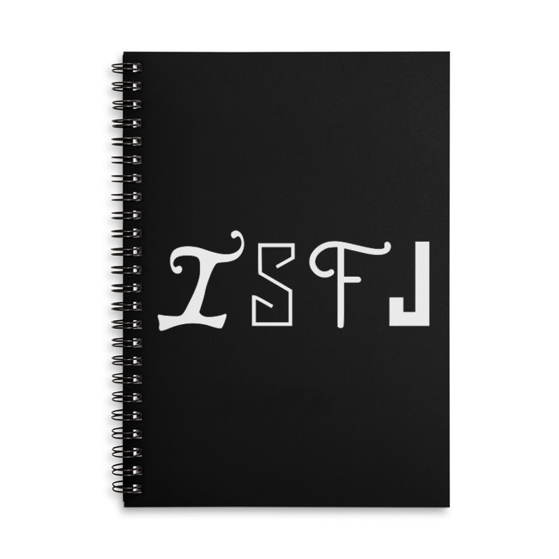 ISFJ Accessories Notebook by BumbleBess