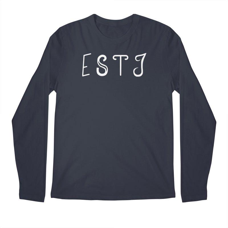 ESTJ Men's Longsleeve T-Shirt by BumbleBess
