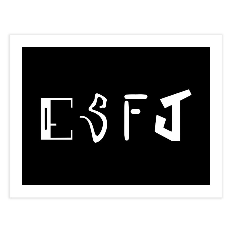 ESFJ Home Fine Art Print by BumbleBess