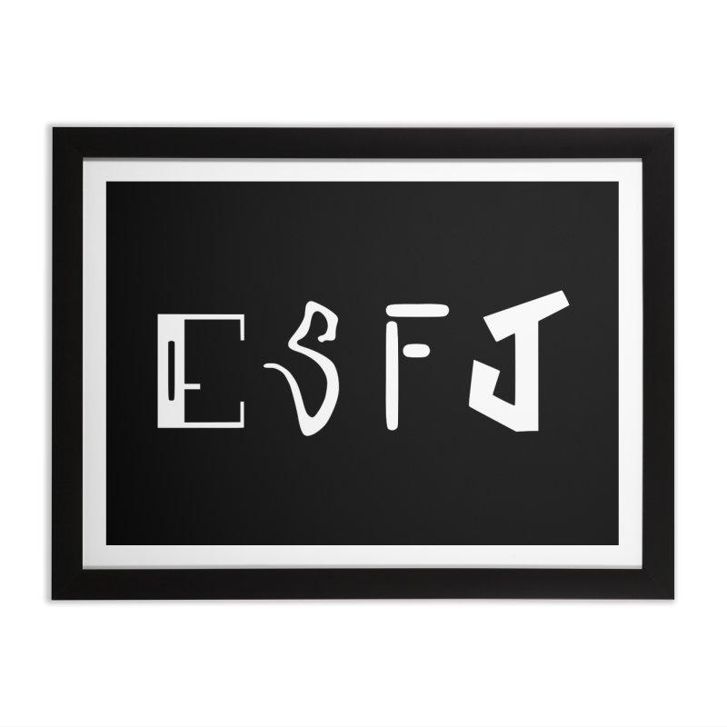 ESFJ Home Framed Fine Art Print by BumbleBess