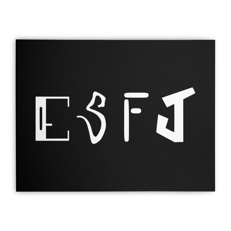 ESFJ Home Stretched Canvas by BumbleBess