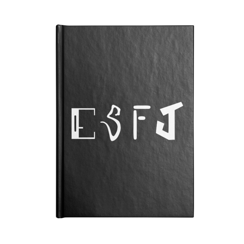 ESFJ Accessories Notebook by BumbleBess