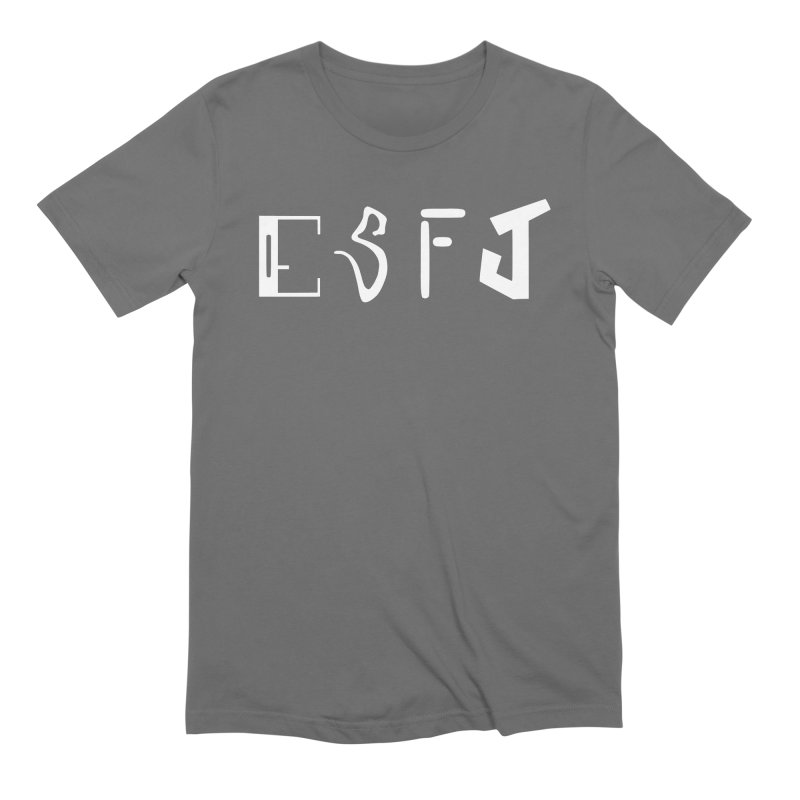 ESFJ Men's T-Shirt by BumbleBess