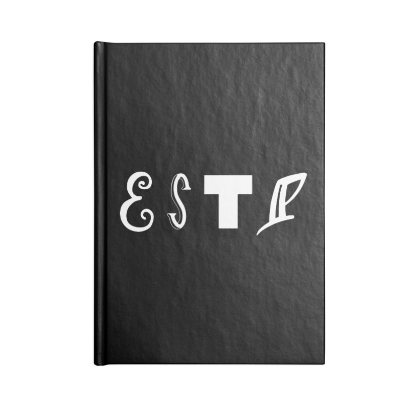 ESTP Accessories Notebook by BumbleBess