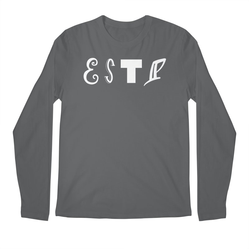 ESTP Men's Longsleeve T-Shirt by BumbleBess