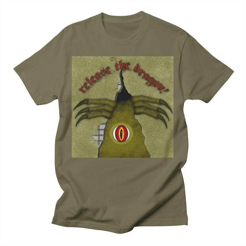 Release The Dragon! Digital Art Men's T-Shirt by ButterflyInTheAttic's Artist Shop