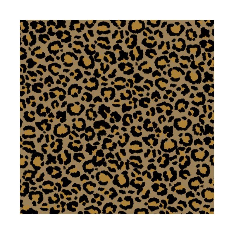 Leopard Pattern in Natural  2 Accessories Bag by ButterflyInTheAttic's Artist Shop