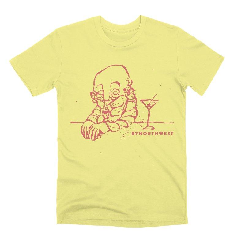 Whiskey (Red) Men's Premium T-Shirt by ByNorthwest Store