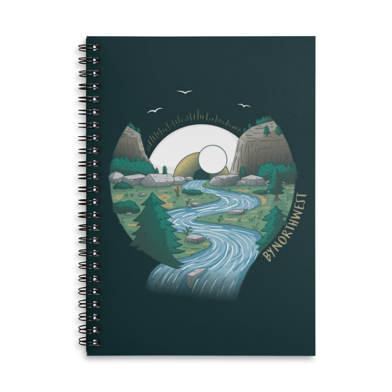 Riversong NEW Accessories Lined Spiral Notebook by ByNorthwest Store