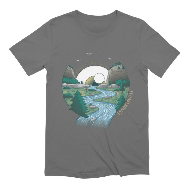Riversong NEW Men's T-Shirt by ByNorthwest Store