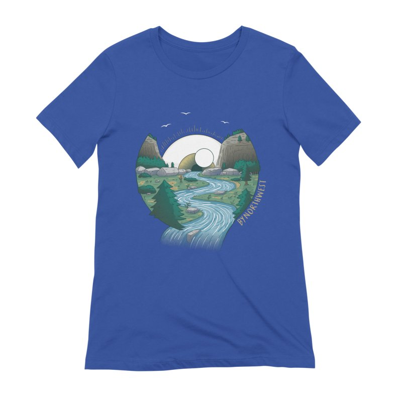 Riversong NEW Women's Extra Soft T-Shirt by ByNorthwest Store