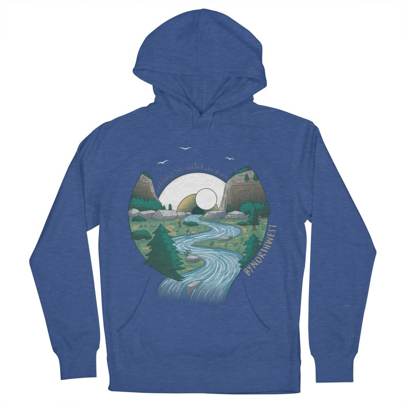 Riversong NEW Men's French Terry Pullover Hoody by ByNorthwest Store