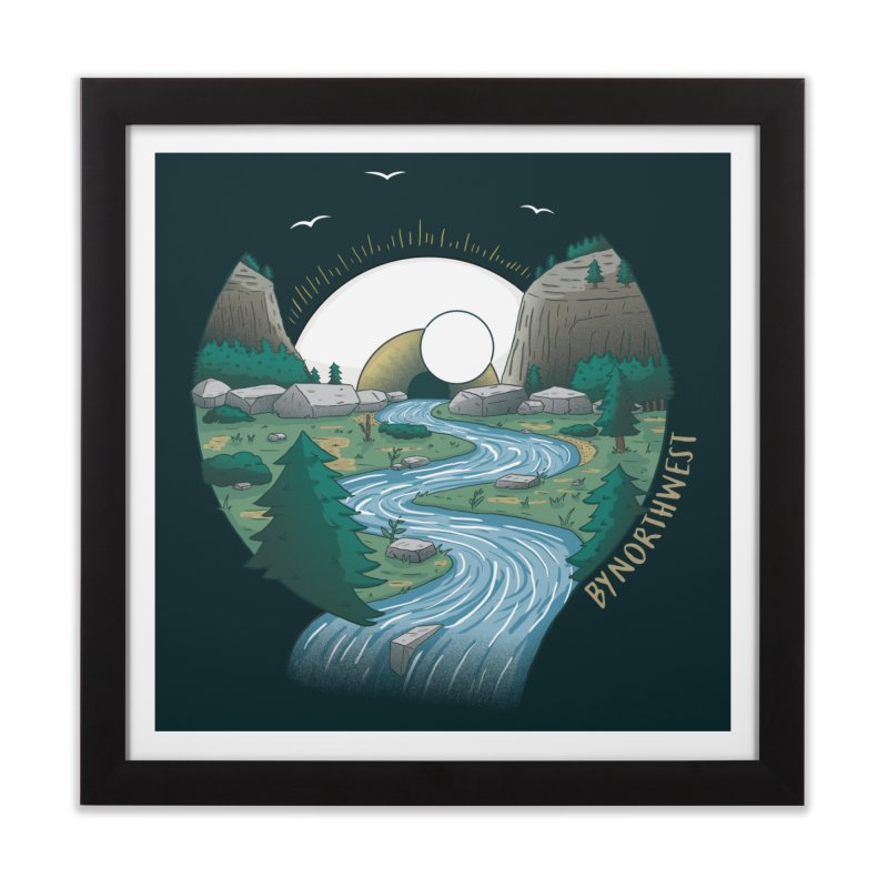 Riversong NEW Home Framed Fine Art Print by ByNorthwest Store