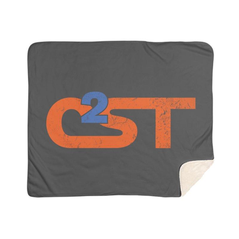 Vintage Home Sherpa Blanket Blanket by C²ST