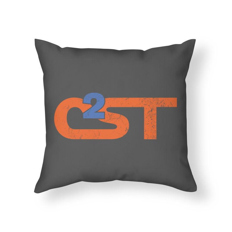 Vintage Home Throw Pillow by C2ST's Artist Shop