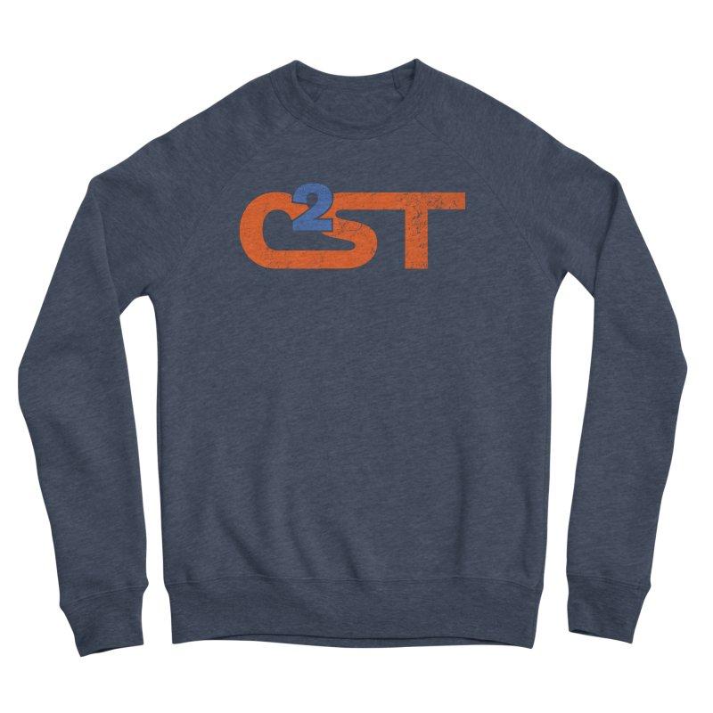 Vintage Men's Sponge Fleece Sweatshirt by C2ST's Artist Shop