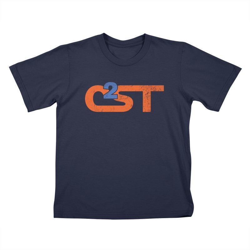 Vintage Kids T-Shirt by C2ST's Artist Shop