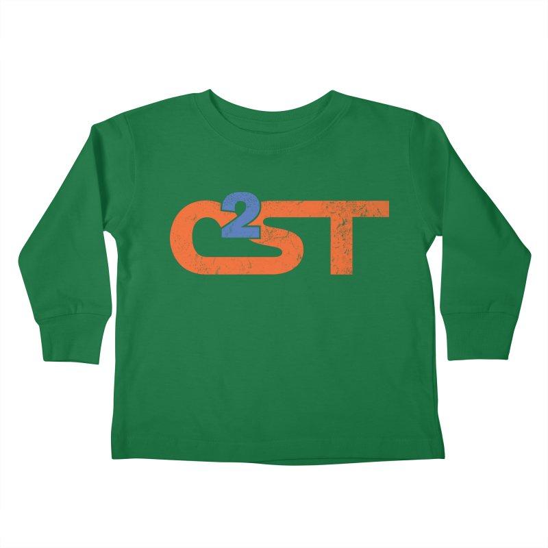 Vintage Kids Toddler Longsleeve T-Shirt by C²ST