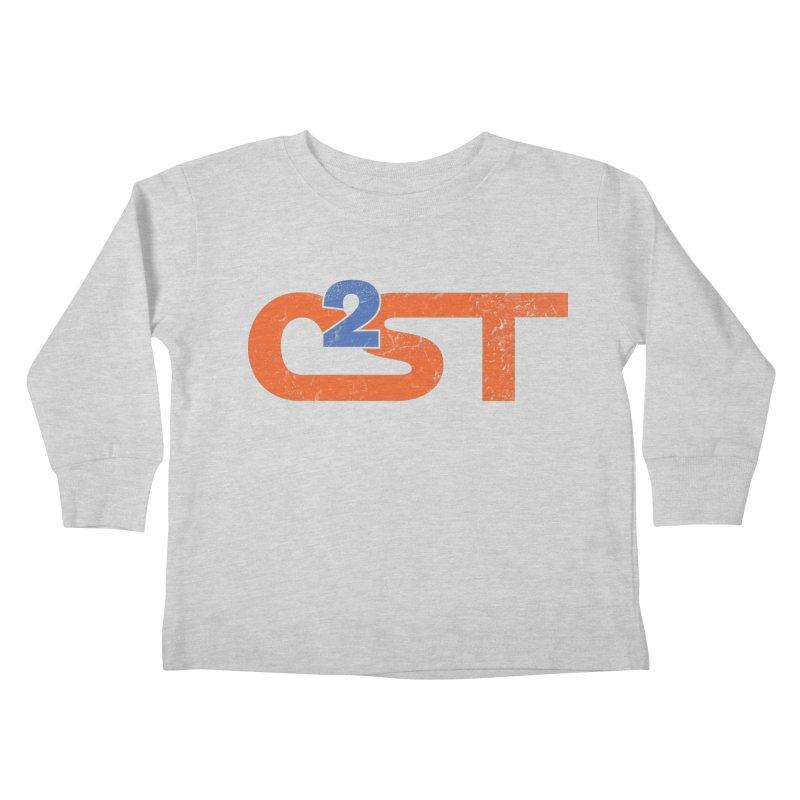 Vintage Kids Toddler Longsleeve T-Shirt by C2ST's Artist Shop