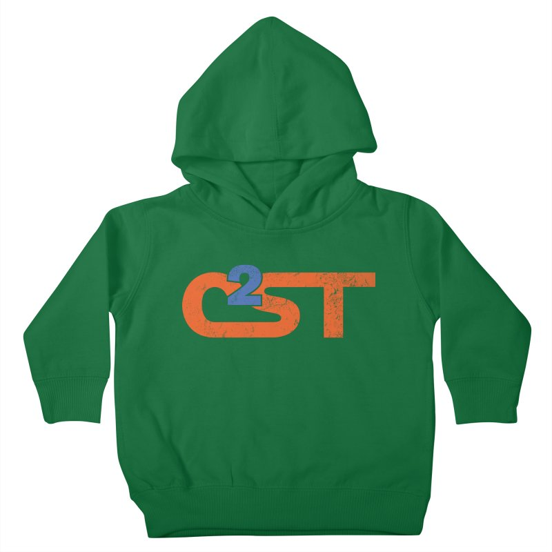 Vintage Kids Toddler Pullover Hoody by C2ST's Artist Shop