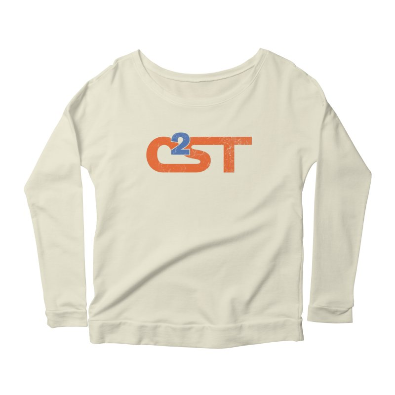 Vintage Women's Scoop Neck Longsleeve T-Shirt by C2ST's Artist Shop