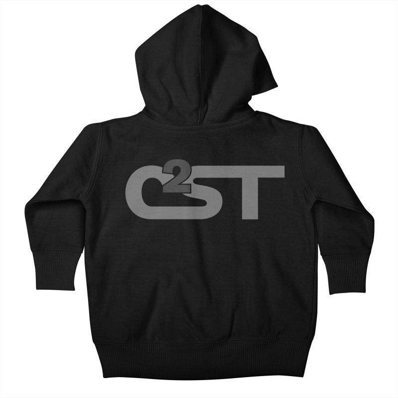 C2ST Watermark Kids Baby Zip-Up Hoody by C2ST's Artist Shop