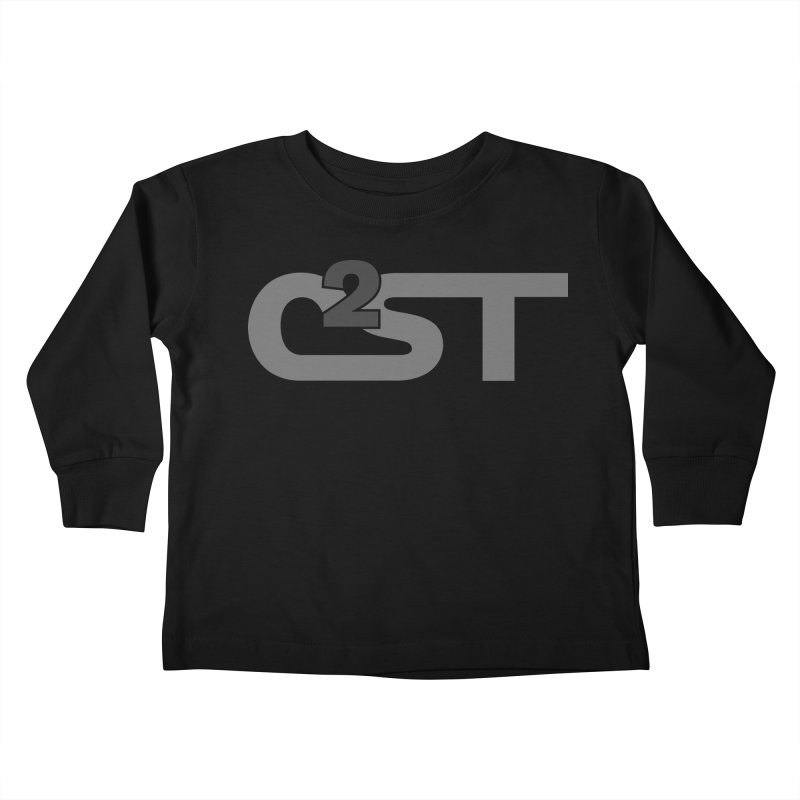 C2ST Watermark Kids Toddler Longsleeve T-Shirt by C2ST's Artist Shop