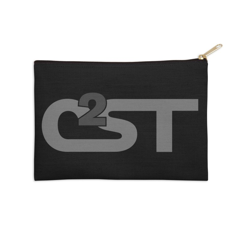 C2ST Watermark Accessories Zip Pouch by C²ST