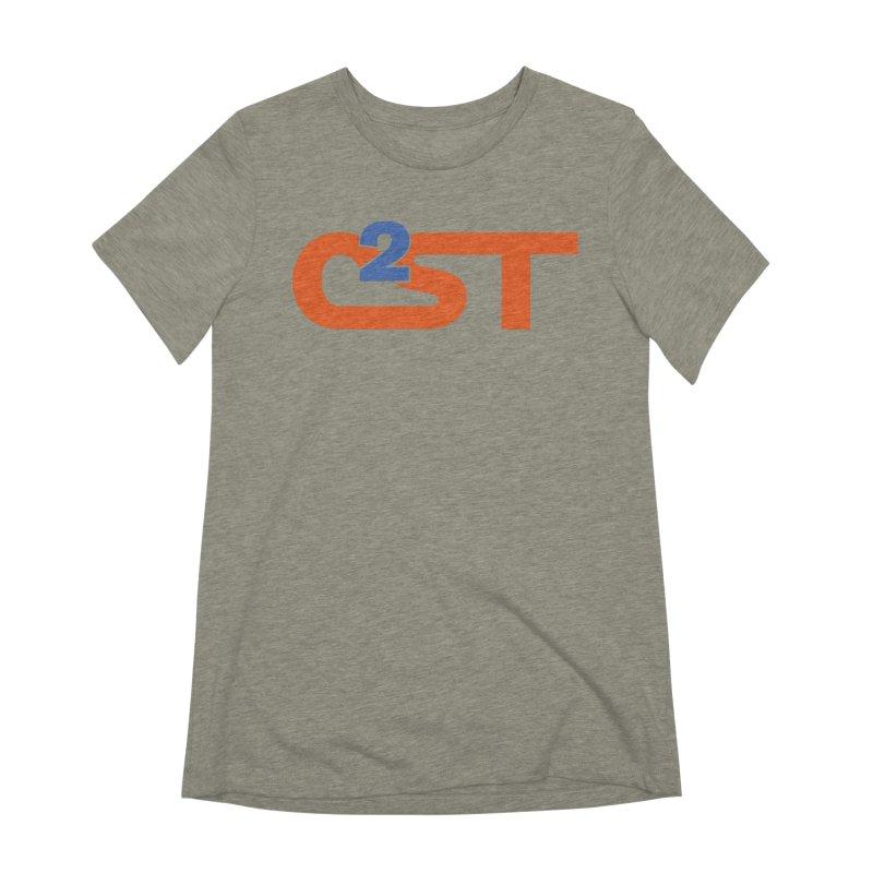 C2ST Classic Women's Extra Soft T-Shirt by C2ST's Artist Shop
