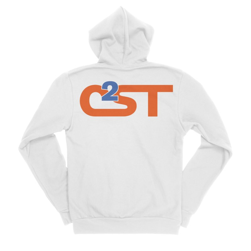 C2ST Classic Women's Sponge Fleece Zip-Up Hoody by C2ST's Artist Shop