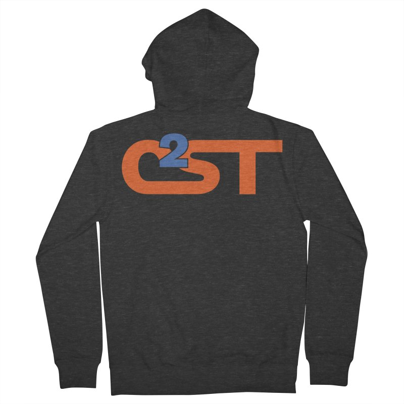 C2ST Classic Women's French Terry Zip-Up Hoody by C2ST's Artist Shop