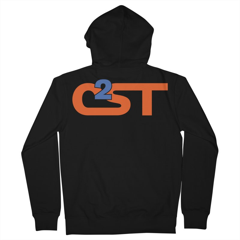 C2ST Classic Men's French Terry Zip-Up Hoody by C2ST's Artist Shop